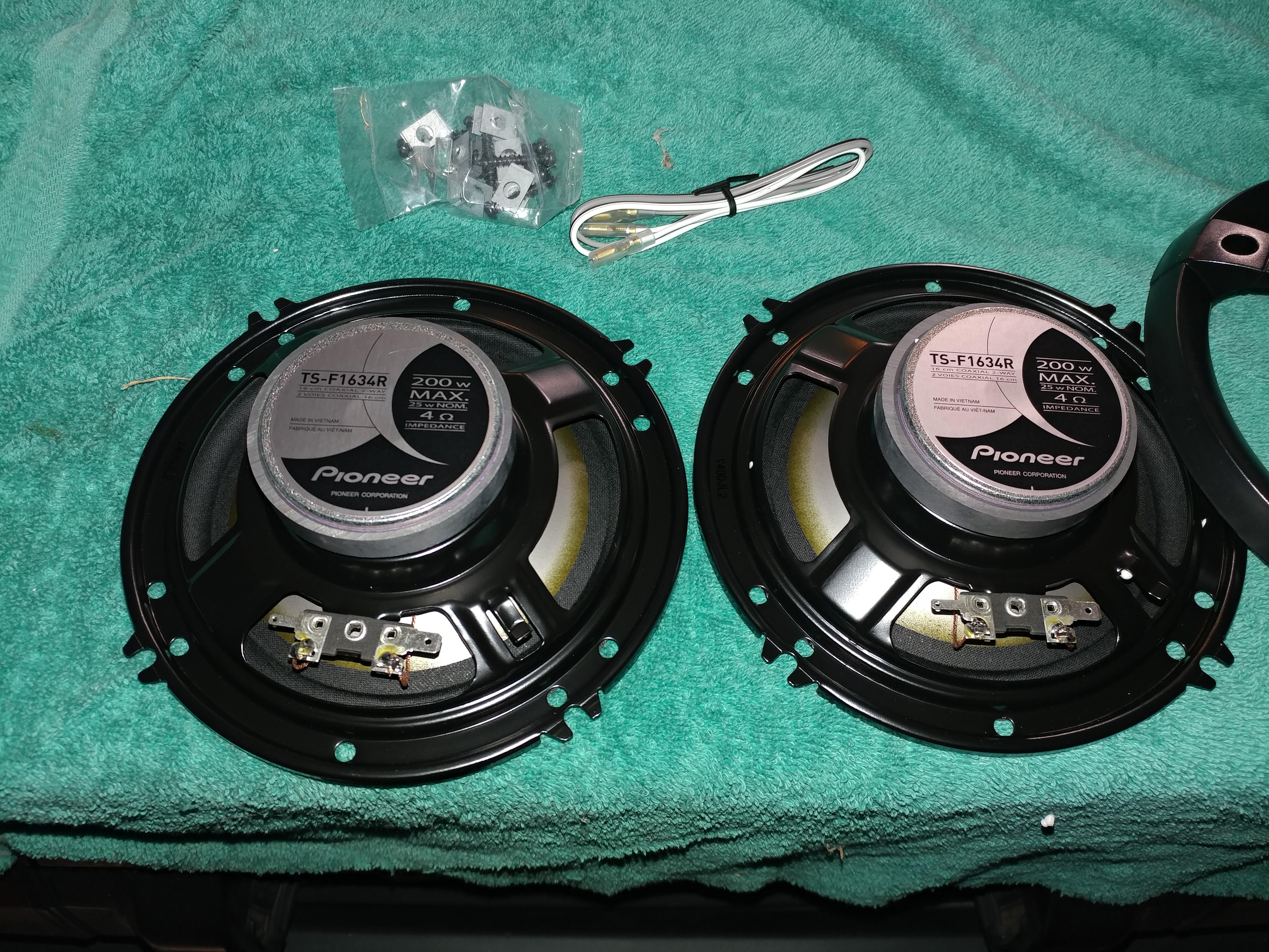 new car speakers