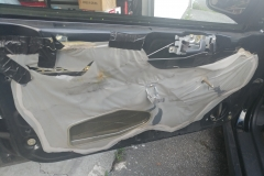 pulled out drivers side door panel for new speaker
