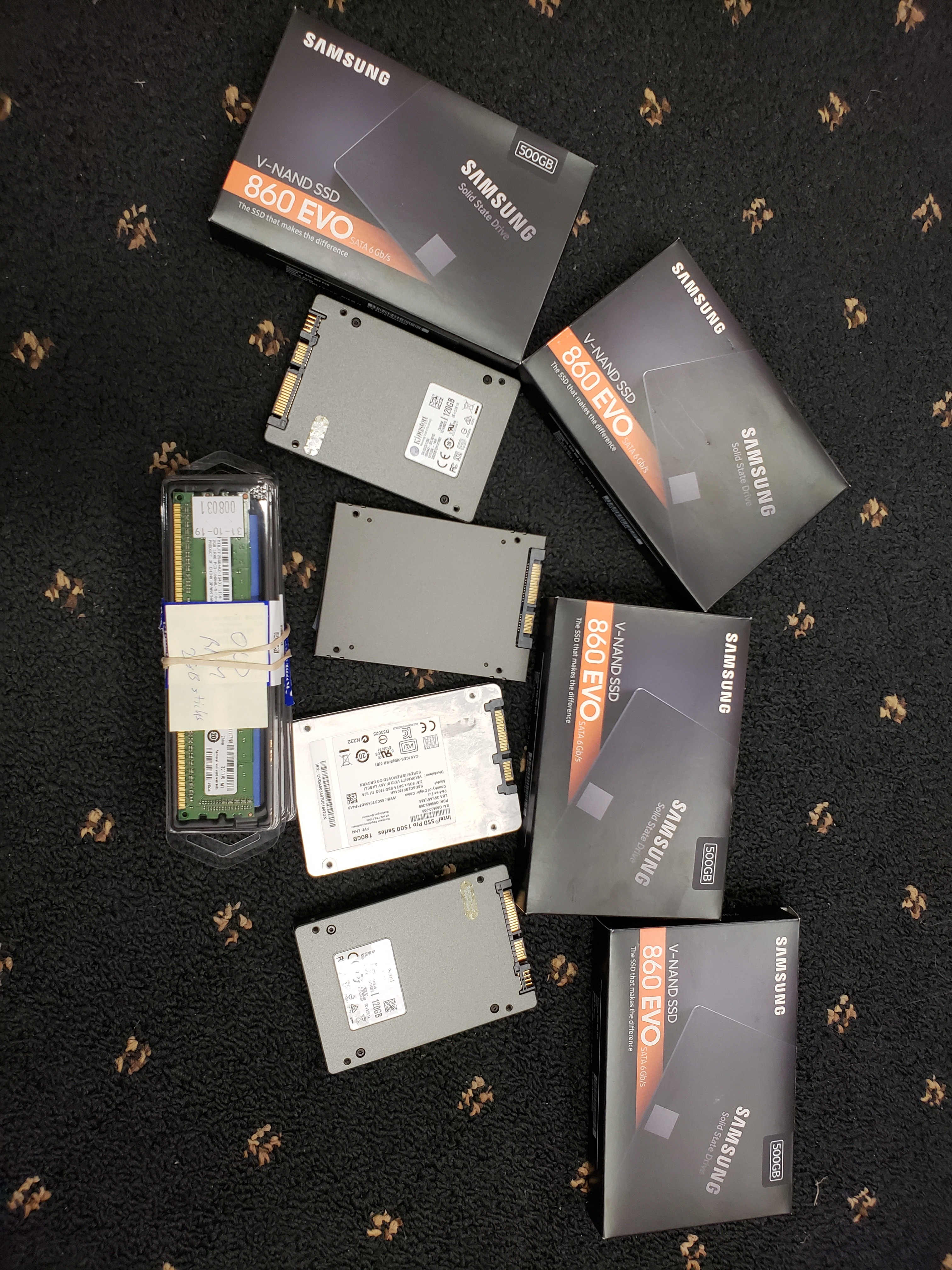 SSD (for upgrades)