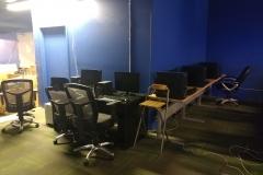 LAN gaming centre setup