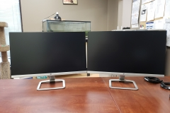 "new 24"" dual LCD monitors (unboxed)"