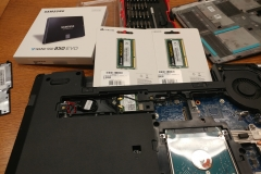 laptop SSD and RAM upgrades