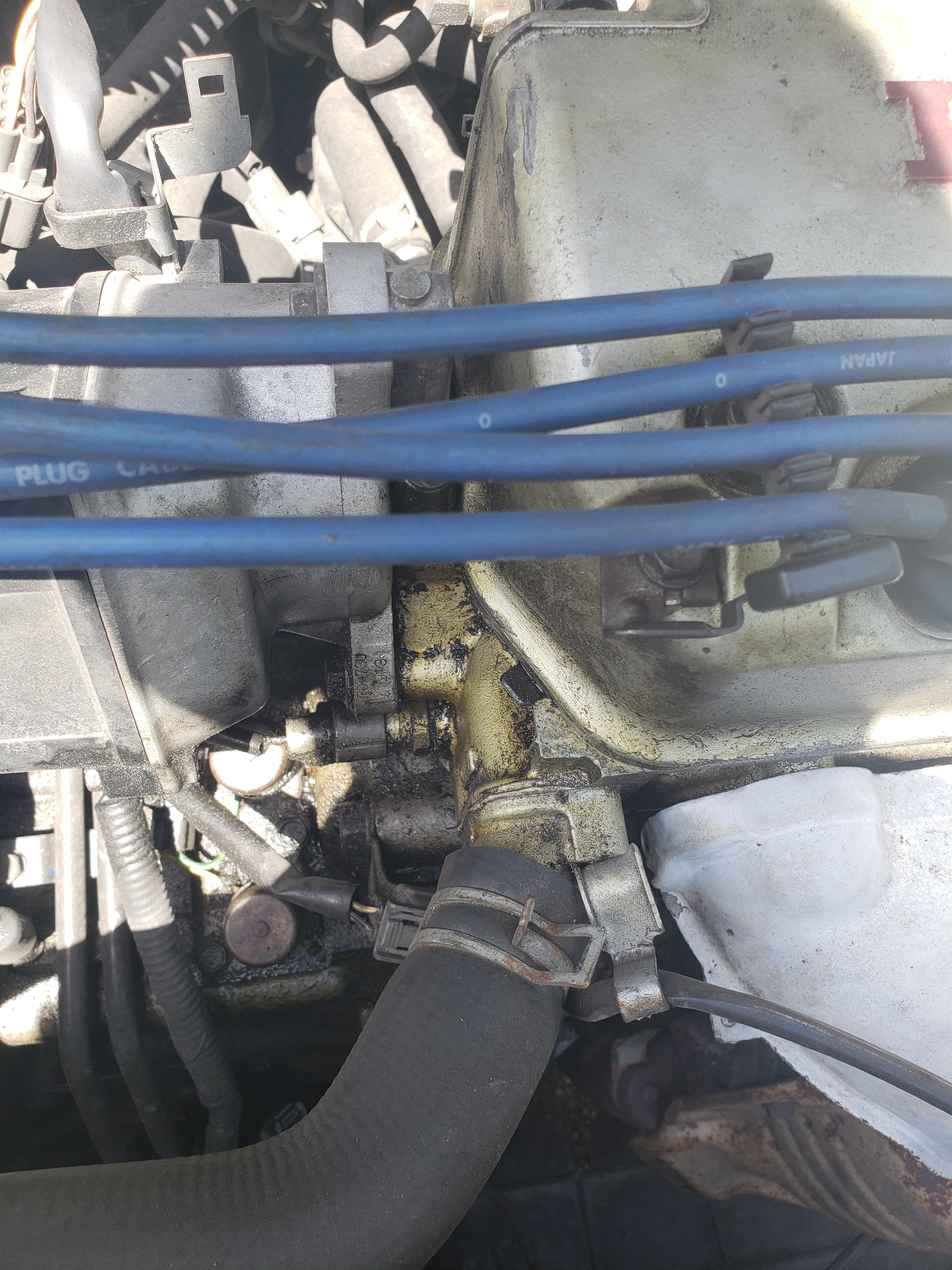 valve cover gasket installed