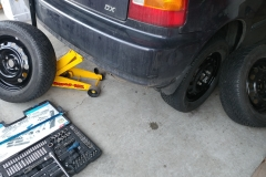 swap summer to winter tires