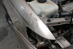 popping a dent out of fender