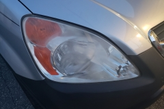 headlights before treatment