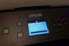 Epson printer setup