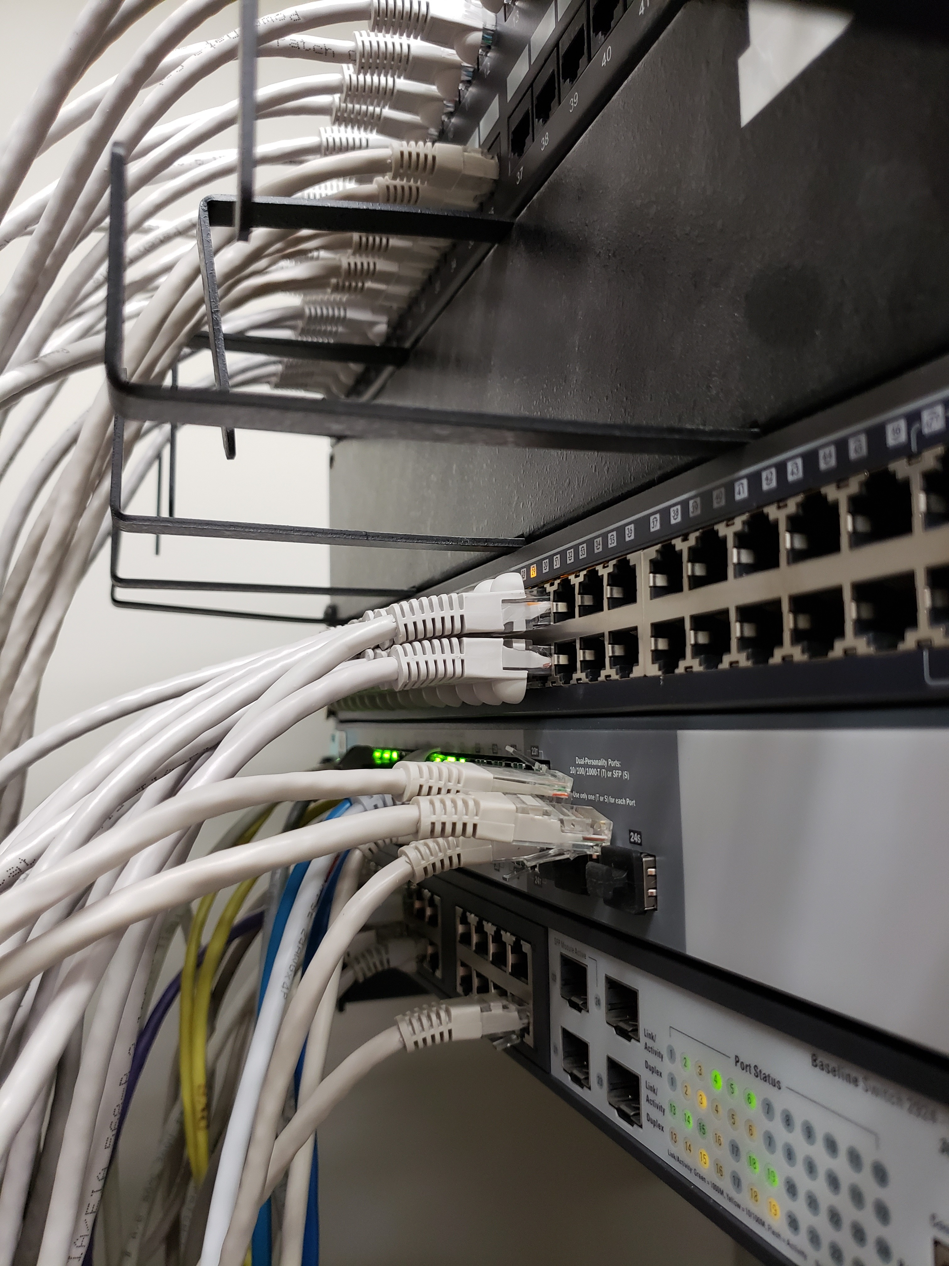 new PoE switch installed