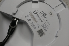 the back of an unifi wifi access point