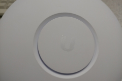 the top of an unifi wifi access point