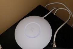 unifi wifi access point setup at a home
