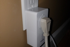 AC powerline network unit setup