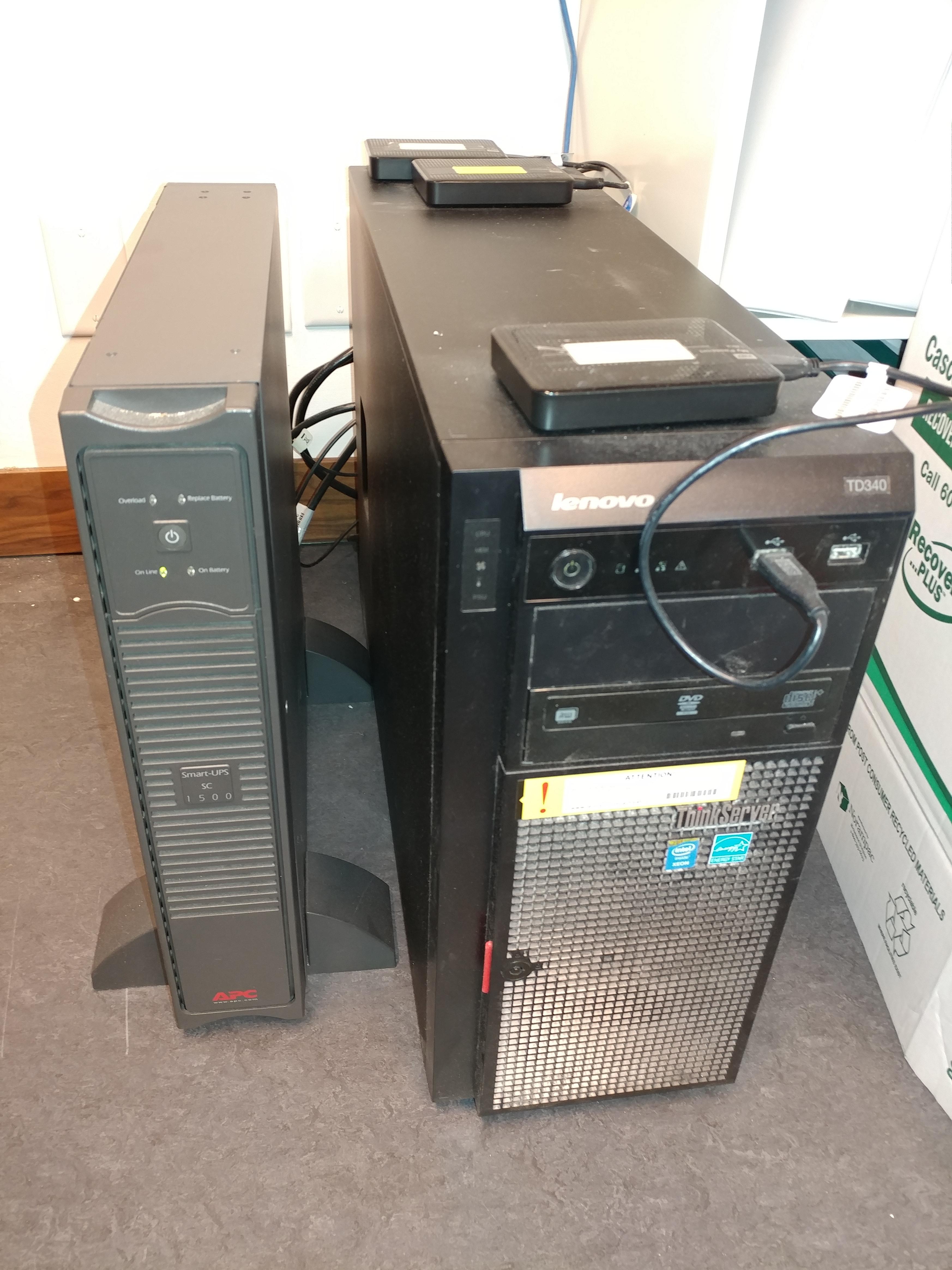 Lenovo server setup