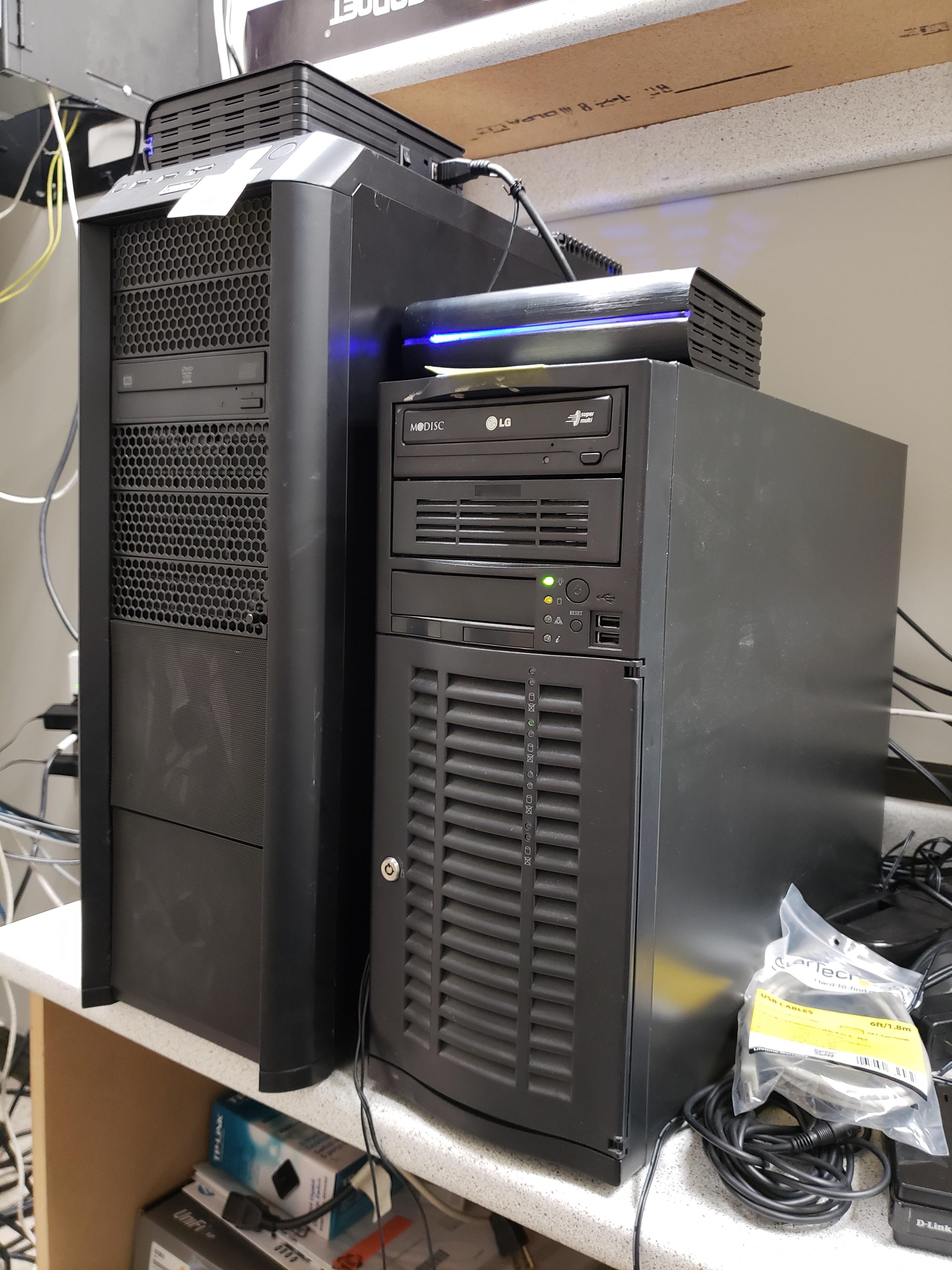 servers setup