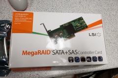new RAID card