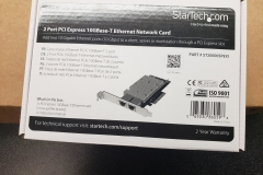 new 10Gb Ethernet card