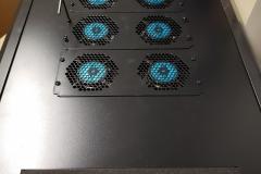 new fans installed for server rack