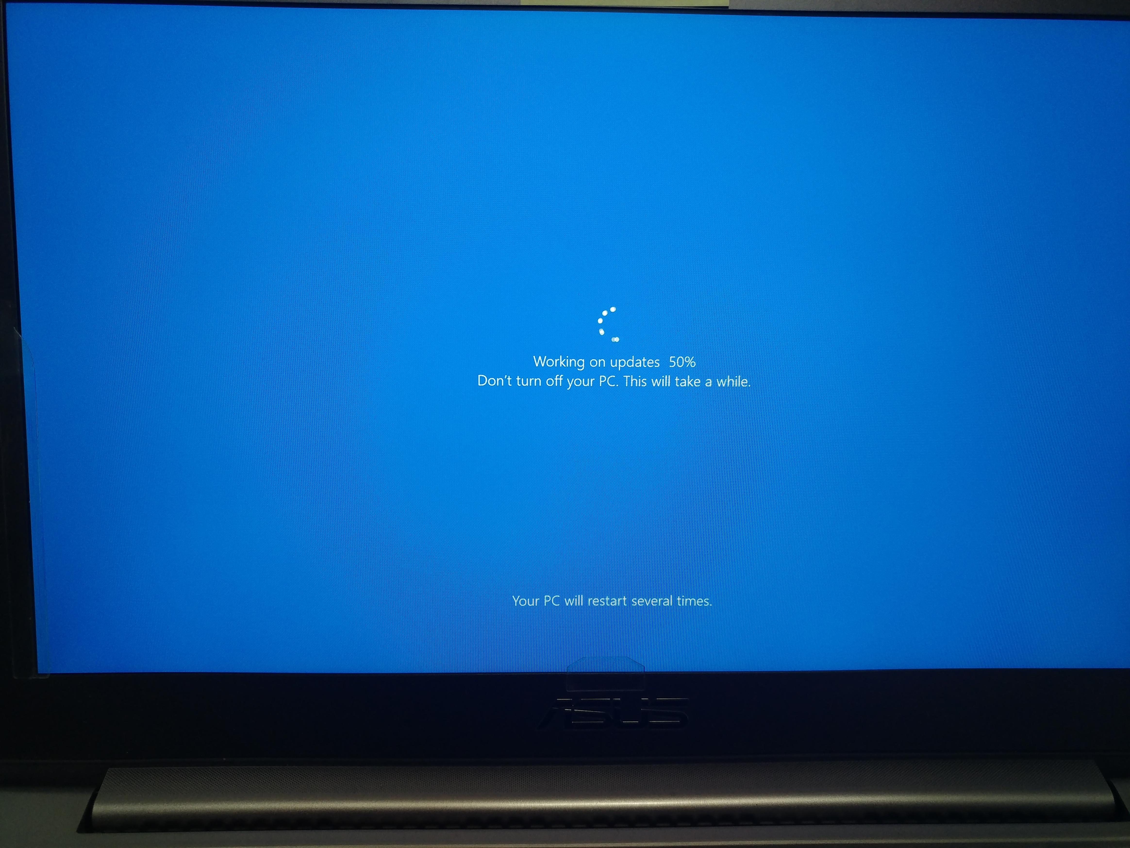installing windows 10 updates