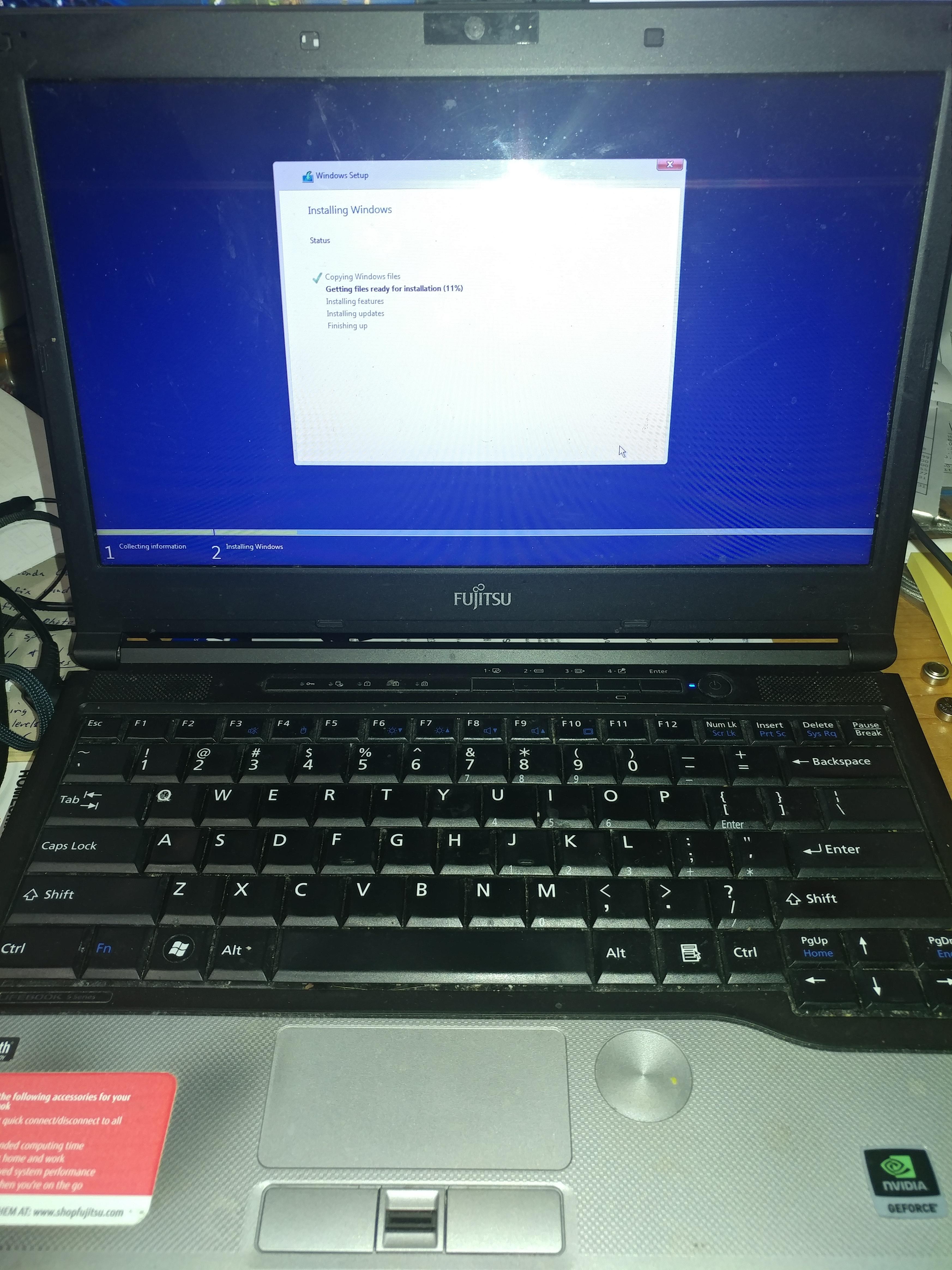 installing fresh copy of windows 10