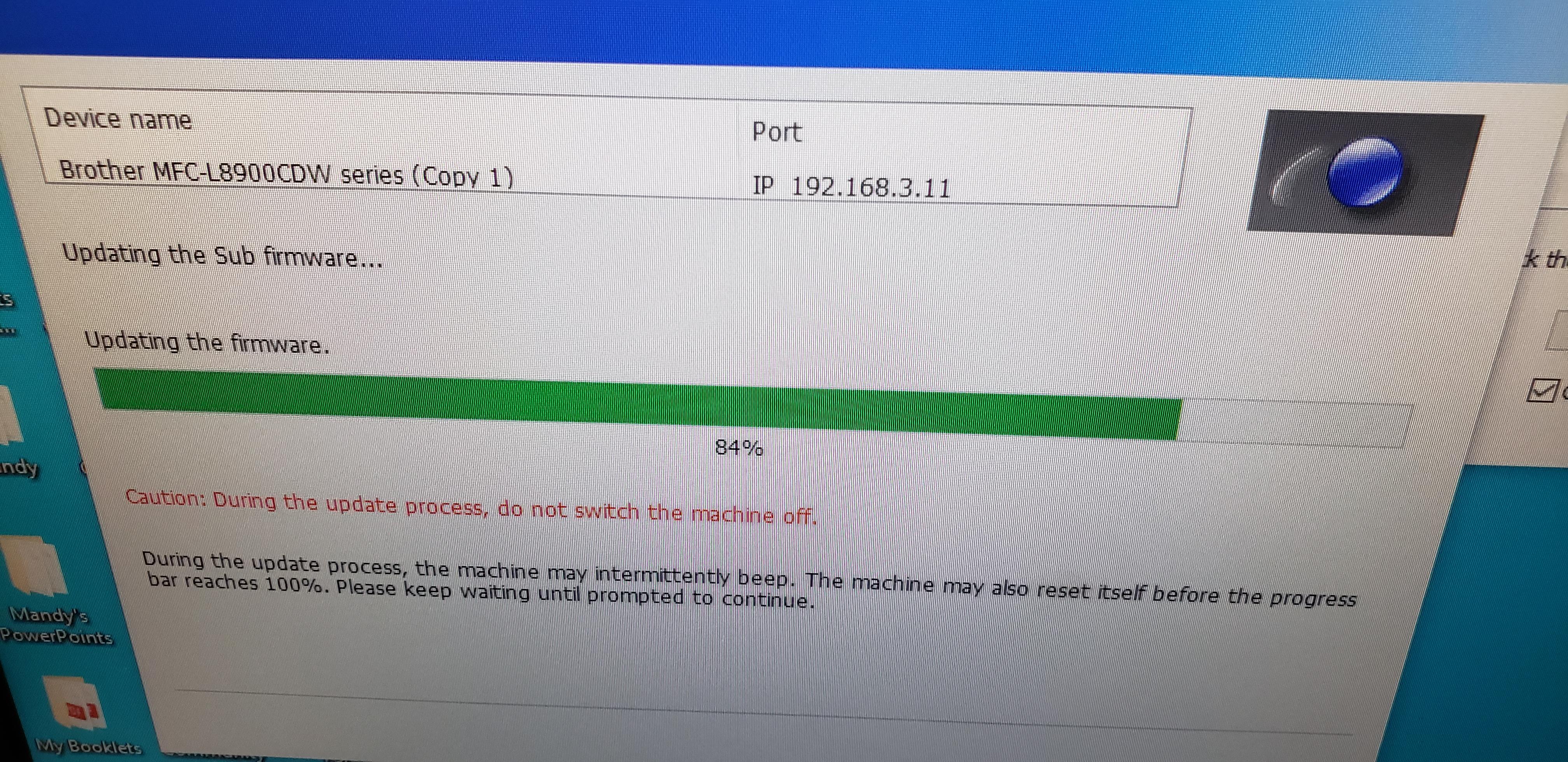 brother printer firmware update