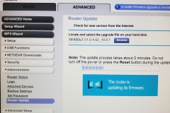 netgear router firmware upgrade