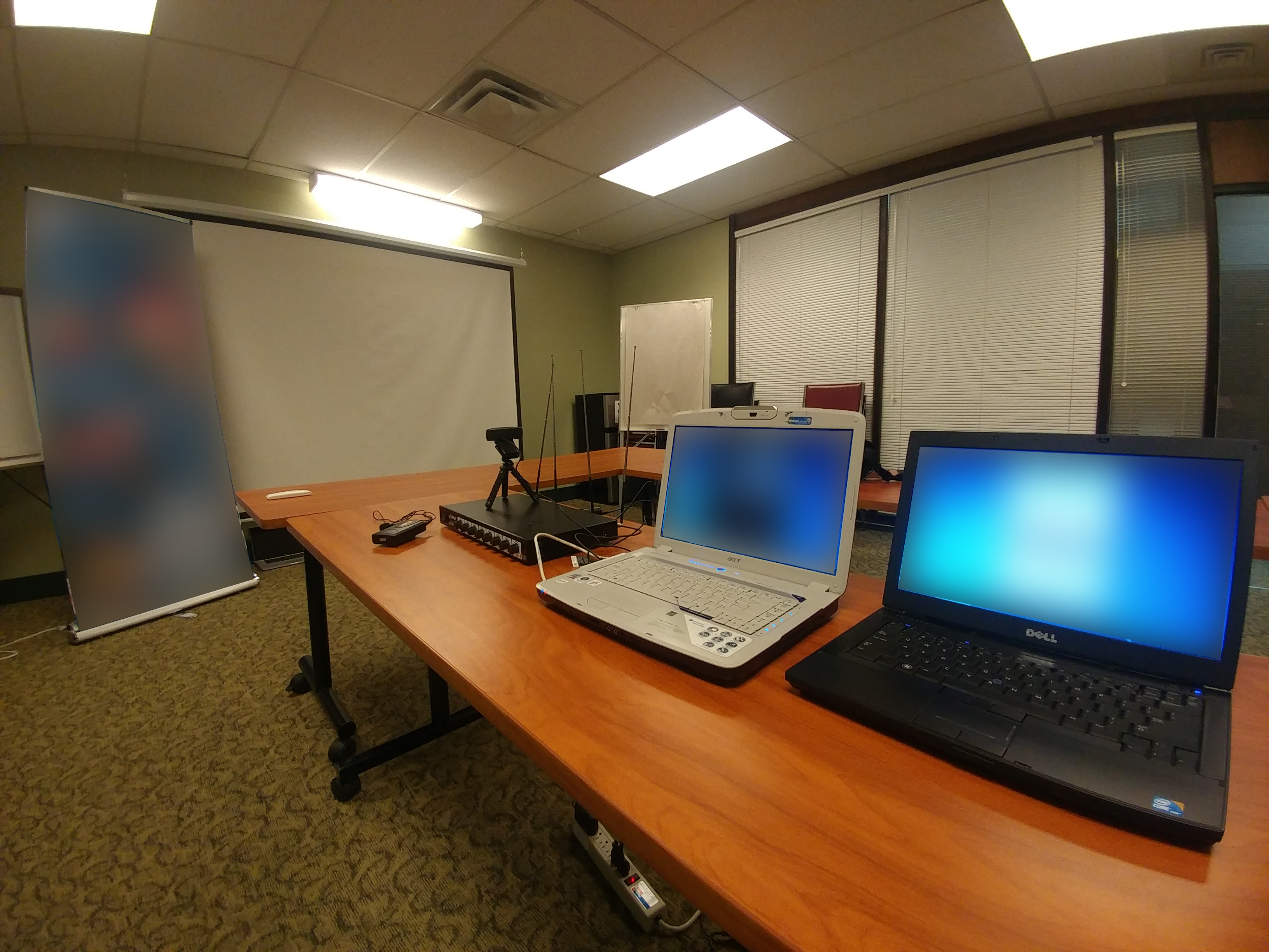 webinar setup for a client